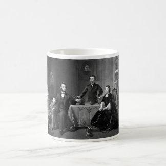 President Lincoln And His Family Coffee Mug
