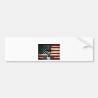 president lincoln bumper sticker