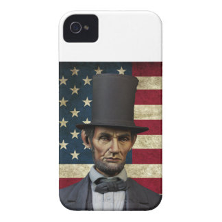 president lincoln iPhone 4 Case-Mate case