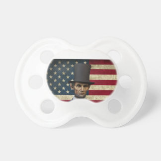 president lincoln pacifier