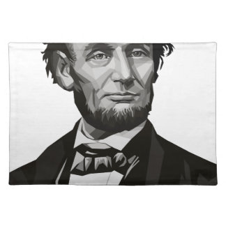 President Lincoln Place Mat