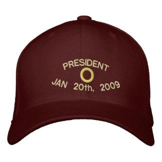 PRESIDENT O MAROON HAT