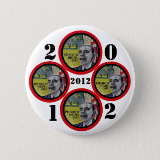 President Obama 2012 2 Inch Round Button