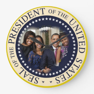 President Obama 2012 Re-election Large Clock