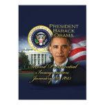 "President Obama 2nd Inauguration 5"" X 7"" Invitation Card"