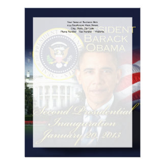 President Obama 2nd Inauguration Letterhead