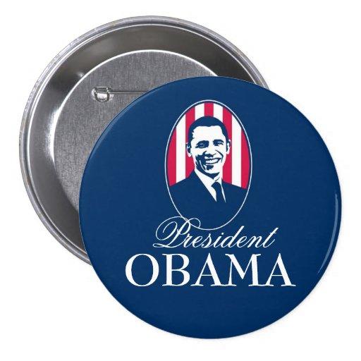 President Obama 3 Inch Round Button