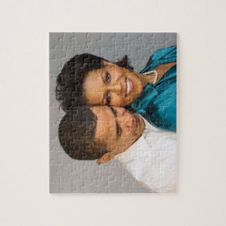 PRESIDENT OBAMA AND FIRST LADY-PUZZLE JIGSAW PUZZLE