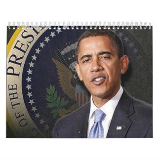 President Obama Calander Wall Calendar