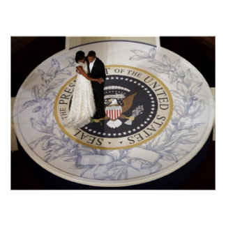 President Obama FIRST COUPLE, FIRST DANCE Poster