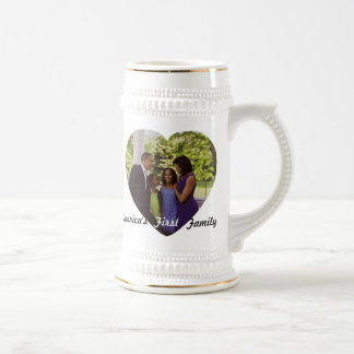 President Obama First Family Commemorative Beer Stein