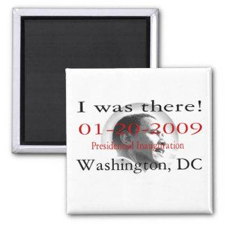 President Obama Historic Inauguration Magnet