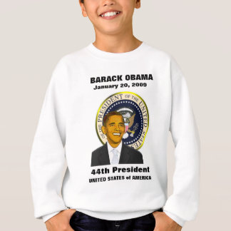 President Obama Inauguration Day Teen Sweatshirt