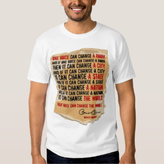 President  Obama - One Voice Speech CRDBRD T-Shirt