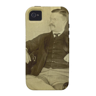 President Roosevelt at His Desk in White House Vibe iPhone 4 Case