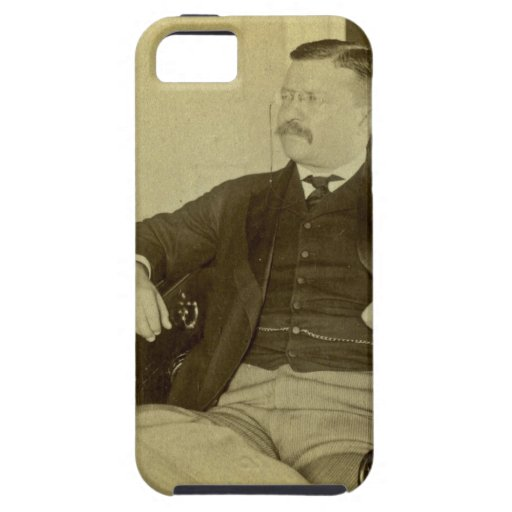 President Roosevelt at His Desk in White House iPhone 5 Cover