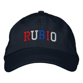 President Rubio 2016 Red White Blue Patriotic Hat Embroidered Hat