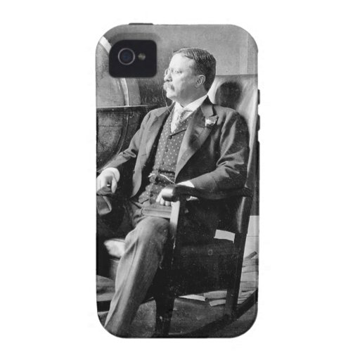 President Teddy Roosevelt Vintage White House iPhone 4/4S Covers