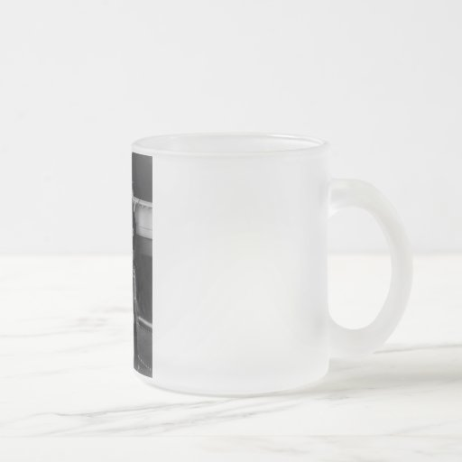 President Theodore Roosevelt Frosted Glass Mug