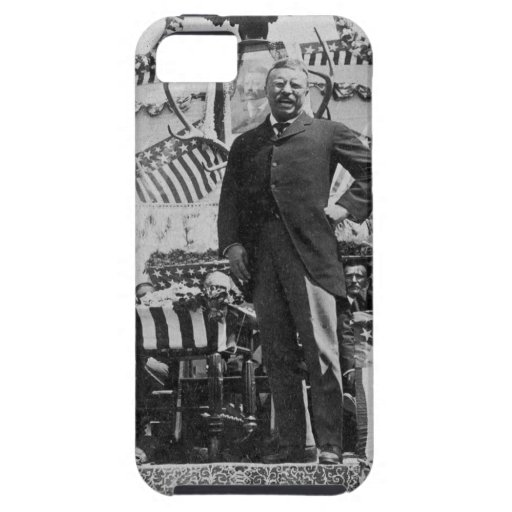 President Theodore Roosevelt in Wyoming iPhone 5 Case
