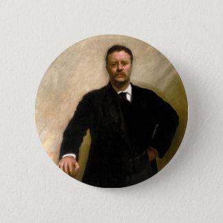 President Theodore Roosevelt John Singer Sargent 2 Inch Round Button
