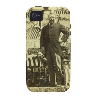 President Theodore Roosevelt Speaking 1903 Vibe iPhone 4 Cover