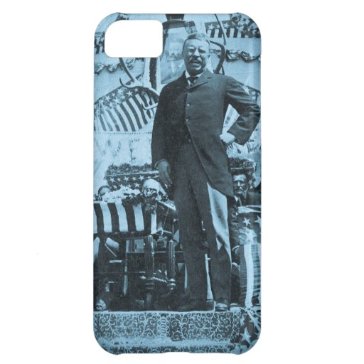President Theodore Roosevelt Speaking in Wyoming iPhone 5C Covers