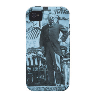 President Theodore Roosevelt Speaking in Wyoming Case-Mate iPhone 4 Covers