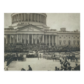 President Theodore Roosevelt Taking Oath of Office Postcard