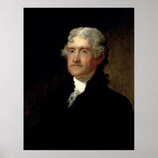 President Thomas Jefferson Poster