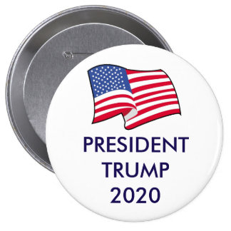 President Trump 2020 Button