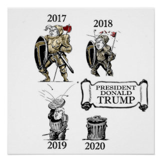President Trump: A History Poster
