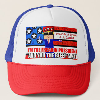 President Trump and Friends Cartoon Hat