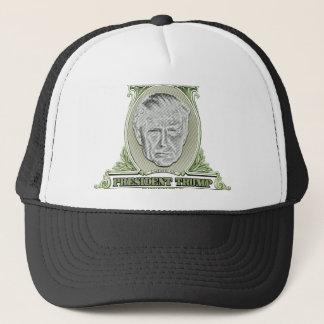 President Trump Dollar Trucker Hat