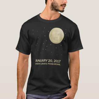 President Trump Moon New Lunatic Phase T-Shirt