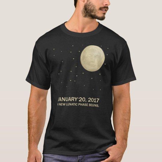 President Trump Moon New Lunatic Phase T-Shirt