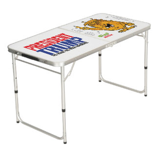 President Trump the Grump pong table