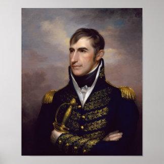 President William Henry Harrison Poster