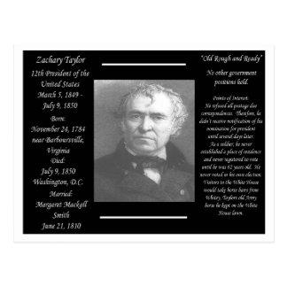 President Zachary Taylor Postcard