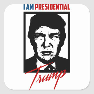 Presidental Donald Trump Sticker