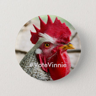Presidential Candidate Vinnie Campaign Button