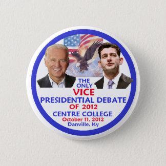 Presidential Debate 2 Inch Round Button