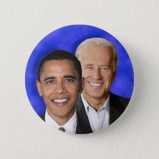 Presidential Democratic Blue Team Machine 2 Inch Round Button