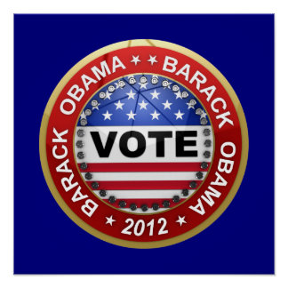 Presidential Election 2012 Barack Obama Print