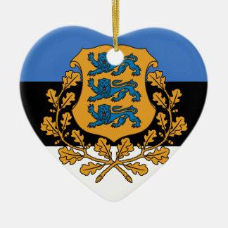 Presidential Estonia, Estonia Ceramic Ornament