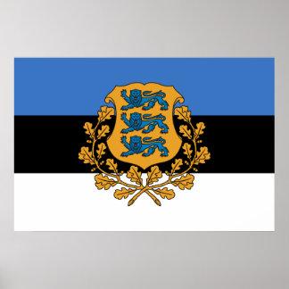 Presidential Estonia, Estonia Poster