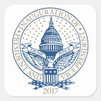 Presidential Inauguration Trump Pence 2017 Square Sticker