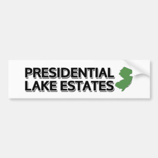 Presidential Lakes Estates, New Jersey Bumper Sticker