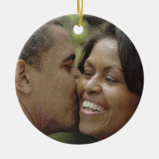 PRESIDENTIAL LOVE, BARACK OBAMA ornament