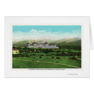 Presidential Range in September Card
